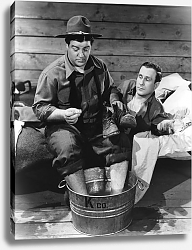 Постер Abbott & Costello (Buck Privates)