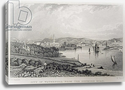 Постер Бартлет Уильям (последователи, грав) View of Waterford from The Dunmore Road, Ireland, engraved by W. Taylor