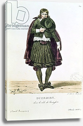 Постер Леком Ипполит Ducroisy in the title role of Tartuffe in 1668, from 'Costumes de Theatre de 1600 a 1820'