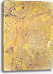 Постер Редон Одилон Yellow Tree, 1900-01
