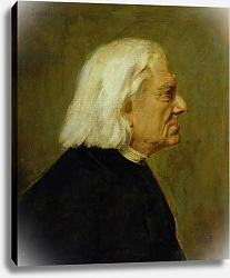 Постер Ленбах Франц The Composer Franz Liszt, 1884