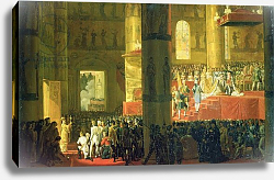 Постер Верне Эмиль The Coronation of the Empress Maria Fyodorovna 1797