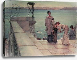 Постер Альма-Тадема Лоуренс (Lawrence Alma-Tadema) The Kiss, 1891