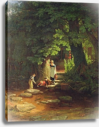 Постер Данби Франсис Children by a Brook, c.1822