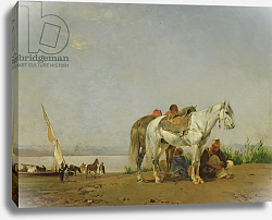 Постер Фроментин Евген On the bank of the Nile, 1871
