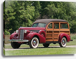 Постер Buick Century Estate by Wildanger '1938