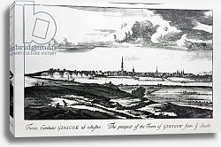 Постер Слезер Джон The Prospect of the Town of Glasgow from ye South, from 'Theatrum Scotiae' by John Slezer, 1693