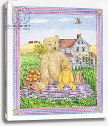 Постер Бредбери Катрин (совр) The Teddy Bears' Picnic