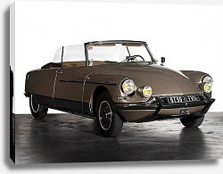 Постер Citro?n DS 21 Cabriolet ''Palm Beach'' by Chapron '1966
