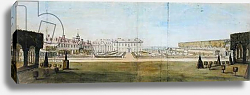 Постер Тилеманс Питер A View of the Garden and House at Upper Winchendon, Buckinghamshire