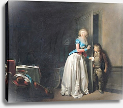 Постер Бойли Луи The Visit Received, 1789
