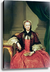 Постер Менгс Антон Maria Amalia of Saxony Queen of Spain
