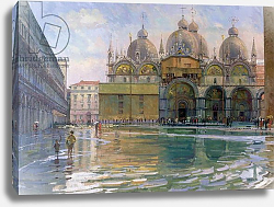 Постер Браун Боб (совр) Flood Tide, Venice, 1992