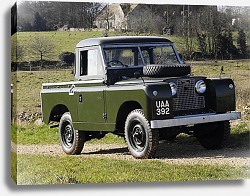 Постер Land Rover Series II 88 Pickup '1958
