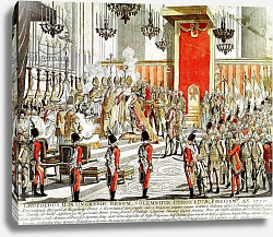 Постер Школа: Австрийская 18в. The Coronation of Leopold II at Bratislava in 1790