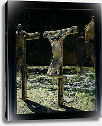 Постер Ге Николай The Crucifixion, or Golgotha, 1893