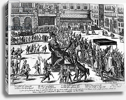 Постер Хогенберг Франц (карты) Entry of Hercule Francois of France, duke of Alencon in Antwerp, 19th February 1582