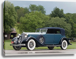 Постер Lincoln KA Custom Dietrich Convertible Sedan '1933