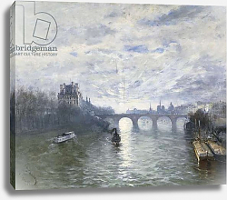 Постер Богз Франк The Paris Royale on the Seine, 1895