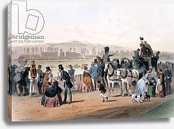 Постер Гурар Евген Racecourse at the Bois de Boulogne