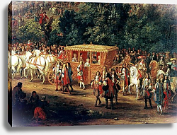 Постер Мюлен Адам The Entry of Louis XIV and Maria Theresa into Arras, 30th July 1667