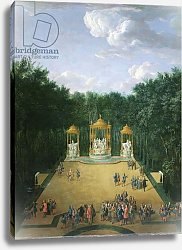 Постер Мартин Пьер The Groves of the Baths of Apollo in the Gardens of Versailles, 1713