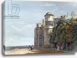 Постер Сэндби Поль The North Terrace, Windsor Castle, looking East