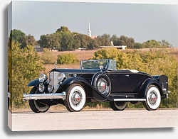 Постер Packard Twin Six Coupe Roadster '1932