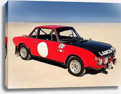 Постер Lancia Fulvia HF1600 Group 4 Works Rally Car '1971