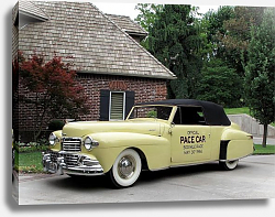 Постер Lincoln Continental Indy Pace Car '1946