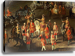 Постер Мейтенс Мартин A Cavalcade in the Winter Riding School of the Vienna Hof, 1743