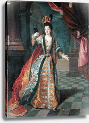 Постер Гоберт Portrait of a Woman in a Ball Gown