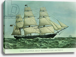 Постер Неизвестен The Clipper ship 'Highflyer', 1111 tons