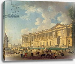 Постер Демаки Пьер The Colonnade of the Louvre. c.1770