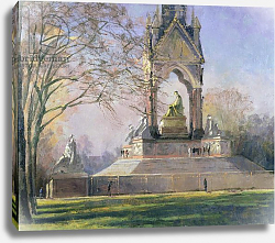 Постер Браун Боб (совр) Morning Visitors to the Albert Memorial