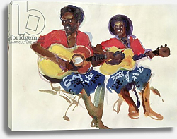 Постер Блеколл Тед (совр) Fijian Guitar Duo, 1985