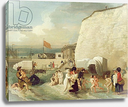 Постер Вест Бенджамин The Bathing Place at Ramsgate, c.1788