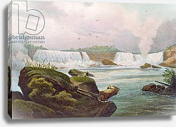 Постер Милберт Жак General View of Niagara Falls from the Canadian Side