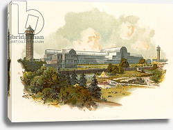 Постер Уилкинсон Чарльз The Crystal Palace, Sydenham