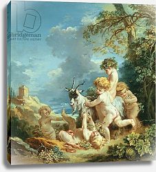 Постер Буше Франсуа (Francois Boucher) Autumn, 1731
