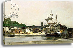 Постер Добиньи Карл The Harbour at Honfleur