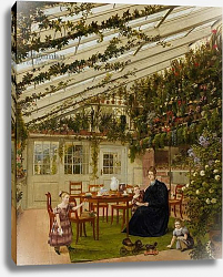 Постер Гартнер Йоханн The Family of Mr. Westfal in the Conservatory, 1836