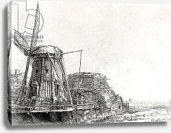 Постер Рембрандт (Rembrandt) The Mill, 1641