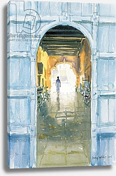 Постер Виллис Люси (совр) Walking Towards the Light, Cochin, 2002