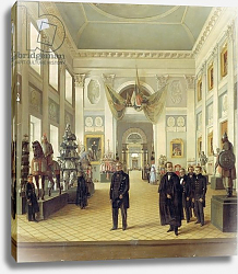 Постер Бурдин Николай Interior of the Armoury Chamber in the Kremlin, 1844