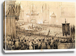Постер Адам Виктор (грав) The Re-establishment of the Cult: A Te Deum at Notre-Dame de Paris, 18th April 1802