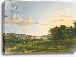 Постер Насмиф Патрик A View of Cessford and the Village of Caverton, Roxboroughshire in the Distance, 1813