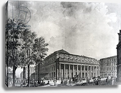 Постер Базире Джеймс View of the Grand Theatre, Bordeaux