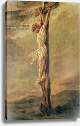 Постер Рембрандт (Rembrandt) Christ on the Cross, c.1646