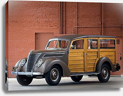 Постер Ford Deluxe Station Wagon '1937
